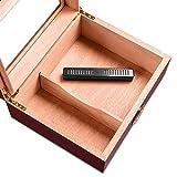 niyin204 Humidificateur De Cigare Profil Mince Et Élégant avec Couvercle Longue Boîte De Crème Hydratante...