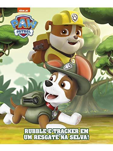 Patrulha Canina: Rubble e Tracker em um resgate na selva