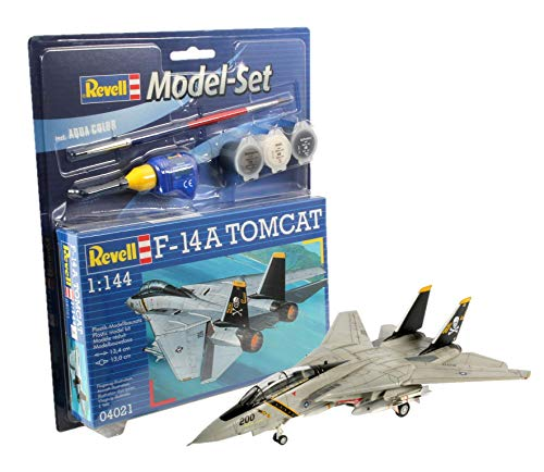 Revell 64021 Model Set caza F-14 A Tomcat