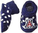 Two Feet Ahead NCAA Newborn Infant Booties with Gift Box, Arizona Wildcats, Polka Dot