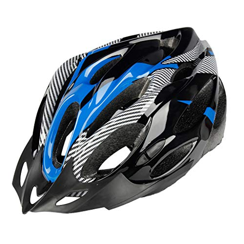 Hunpta Ultra Lightweight Cycle Bike Helmet, Eco-Friendly Adjustable Cycling Helmet, Mountain Road Bike Helmet Suitable for Cycling Adult Men Women Youth (Blue)