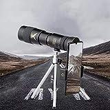 10-300X40mm Super Teleobjetivo Zoom Monocular Telescopio Trípode Protección para Los Ojos Impermeable FMC Teléfono De Ajuste De Transmisión Ultra Alta