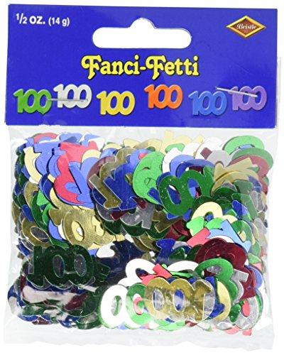 Fanci-Fetti 100 Silhouettes (multi-color) Party Accessory (1 count) (.5 Oz/Pkg)