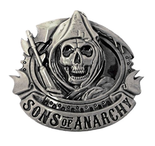Sons of Anarchy Grim Reaper motorista de Metal hebilla de cinturón