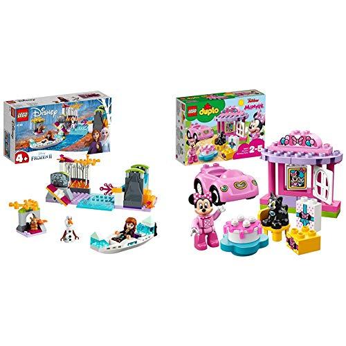 lego frozen canoa Lego Disney&Nbsp;Frozen&Nbsp;Ii Spedizione&Nbsp;Sulla&Nbsp;Canoa&Nbsp;Di&Nbsp;Anna & Duplo&Nbsp;Disney La&Nbsp Set Con Gatto E Topo