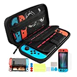 Th-some Kit de Accesorios 14 en 1 para Nintendo Switch, Funda Protectora para Interruptor Nintendo, Cubierta...