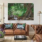 Regenwald Dschungel Poster Kinderzimmer Bilder Babyzimmer