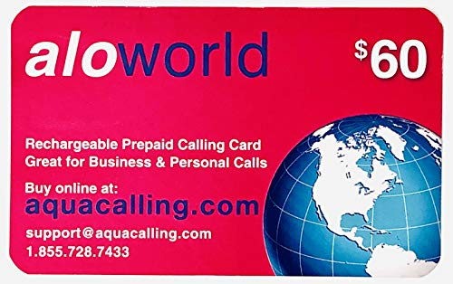 $60 Prepaid Phone Card for Domestic & International Calls Calling Cards with no Expiration. No Pay Phone Fee by Using 1.855.728.7433.