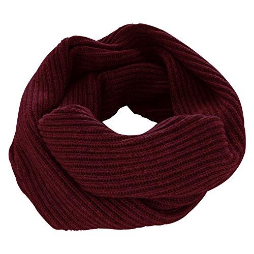 [PRODIGAL(プロディガル)] カシミヤ 100% 畦編み ロング スヌード (フリーサイズ, サンドベージュ)
