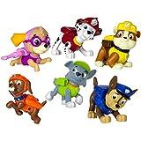 Paw Patrol Mini Figures - figuras de juguete para niños (Multi, Niño/niña, Dibujos animados, Paw Patrol) , color/modelo surtido