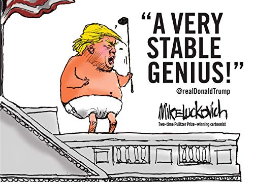 A Very Stable Genius: @realDonaldTrump