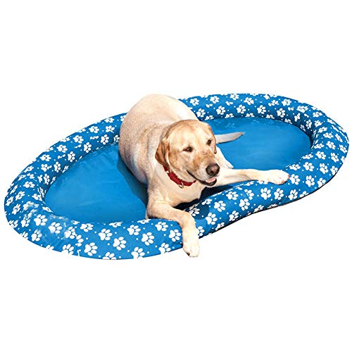 Best Price MJTO Dog Pool Float - Dog Pool Float Large Inflatable Raft for Pets Summer Pool Swimming ...