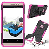 Coolpad Max Case, BasicStock Cool Tire Stripe 2 in 1 Hybrid