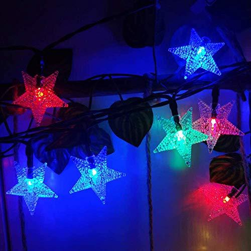 Solar Power 5M 20LEDS,7M 50LEDS,12M 100LEDS Star Fairy String Light Garlands Garden Christmas,Wedding Decoration For Outdoor