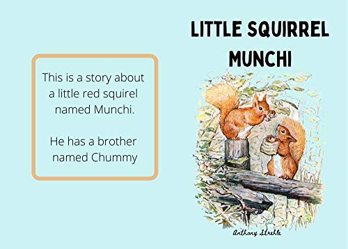 Little Squirrel Munchi: Illustrated Childrens Books; Best read aloud picture book. (English Edition)