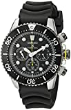 Seiko Men's SSC021 Solar Diver Chronograph Watch