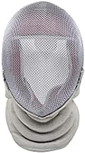 ThreeWOT Fencing Mask, Fencing Sabre Mask,350N CE Certification Fencing Sabre Protective Gear(Contain Storage Bag) (X-Large, Fixed)