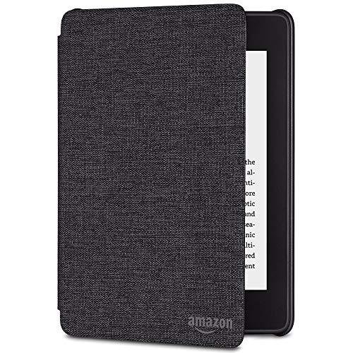 Amazon Kindle Paperwhite-Hülle aus wassergeeignetem Stoff (10.Generation - 2018), Kohlenschwarz