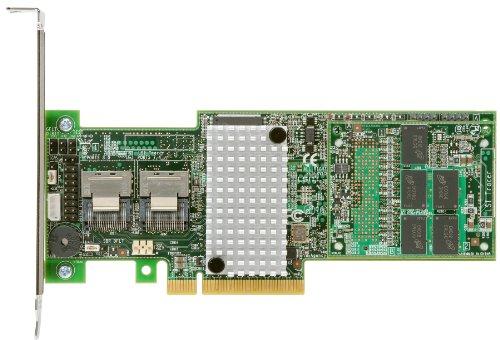 Intel RS25DB080RAID-Controller–RAID-Controller (SAS, Serial ATA II, Serial ATA III, PCI Express x8, Half-Height (Low-Profile), 0, 1, 5, 6, 10, 50, 60, 1024MB, DDR3)