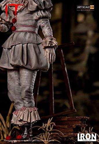 Iron Studios IS773562 Pennywise-Deluxe - Estatua a Escala de Arte (Escala 1:10) 6
