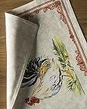 Maison d' Hermine Campagne 100% Baumwolle Set mit 4 Tischsets für den Esstisch   Küche   Hochzeit   Alltag   Dinnerpartys   Frühling/Sommer (33 cm x 48 cm) - 8