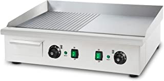 Vertes 3000W Plancha électrique professionnelle lissé plaque a snacker grill