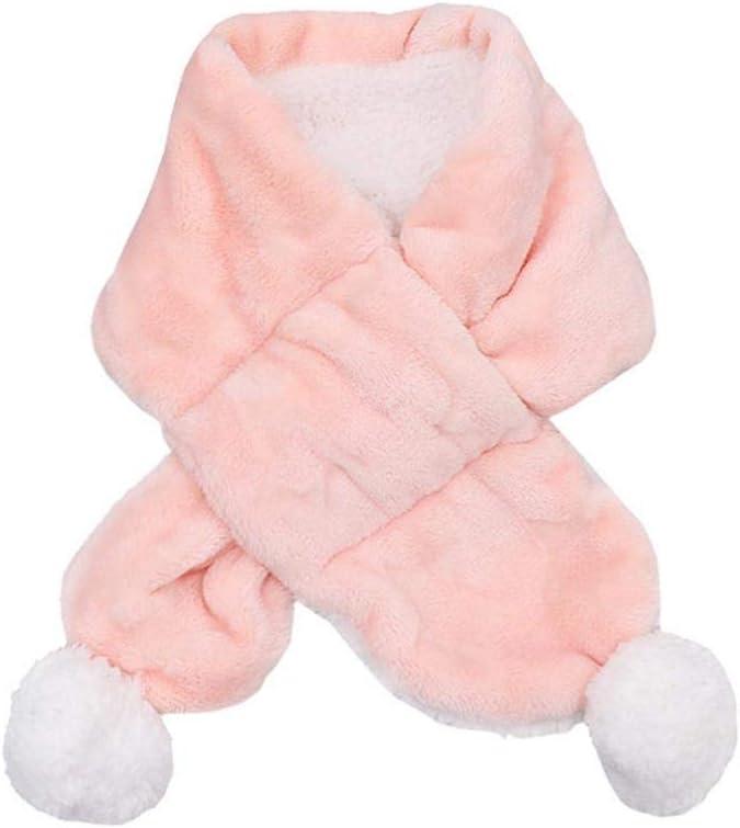 BIANHAO Children Scarf 1pieces 7113cm Coral Fleece Boys Girls Scarf Warm Winter Autumn Kids Collar Scarf Neck Warmer Children Scarf