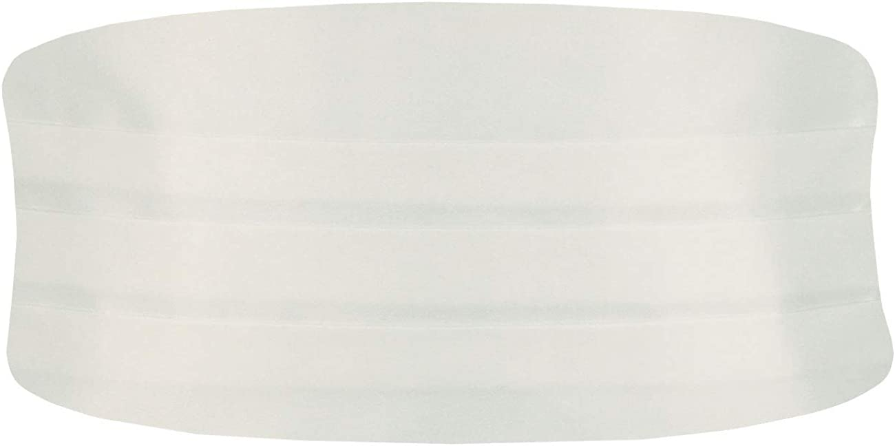 Dobell Mens Ivory Cummerbund Large All Atlanta Mall stores are sold Fit 32-54in