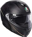 AGV Sports Modular Tricolore Mate Carbon Italia Motocicleta