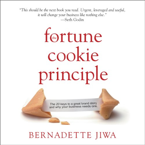 The Fortune Cookie Principle audiobook cover art