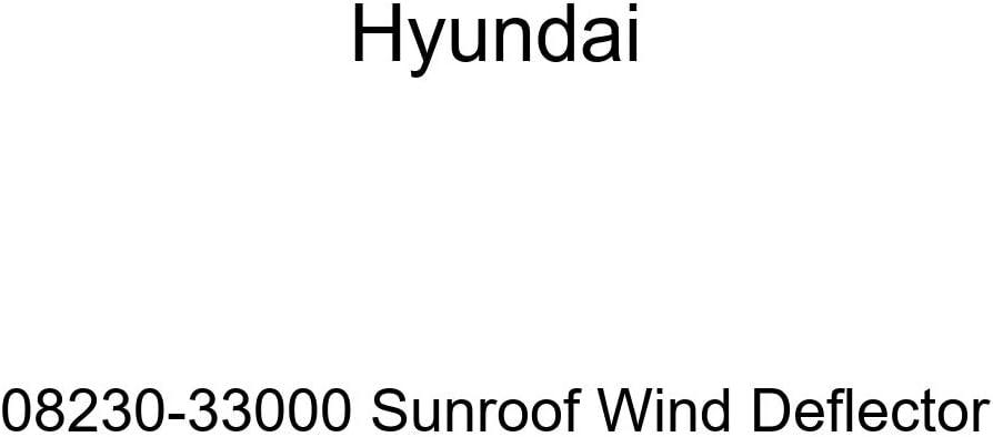 Genuine Some reservation Hyundai 08230-33000 Sunroof National uniform free shipping Deflector Wind