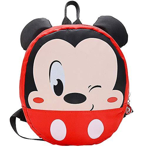 JPYZ Mickey Mouse School Bag Mochila para Niños, útiles Escolares, Regalos para Niños, el Sueño de Disney para Niños, Diseño de Dibujos Animados en 3D Mickey Mouse