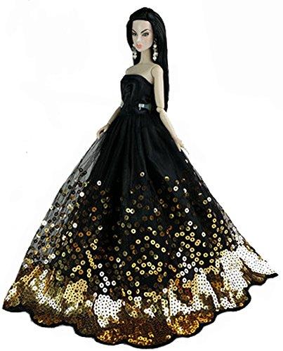 Main douce robe de mariage pour 11 '' Dolls dentelle robe Vêtements poupées