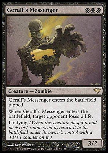 Magic: the Gathering - Geralf's Messenger (63) - Dark Ascension