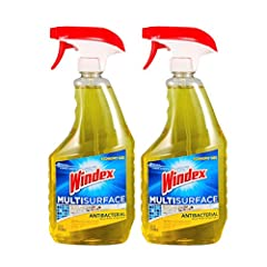 Versatile cleaner effectively kills 99.9 percent of bacteria, removes grease and cleans surfaces Sanitizes hard, non-porous surfaces in 10 seconds Cleans with Windex power
