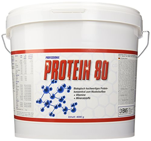 BMS Professional Protein 80 Schoko, 1er Pack (1 x 4 kg)