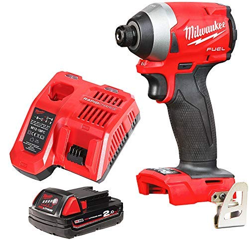 Milwaukee M18FID2 18v M18 Fuel Impact Driver with 1 x 2Ah Battery & Charger