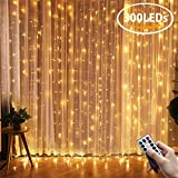 LED Curtain Lights, Kohree Window Curtain Faily Light Remote Control Outdoor Indoor Icicle