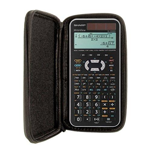 Schutztasche für Taschenrechner von Sharp, für Modell: EL W506X