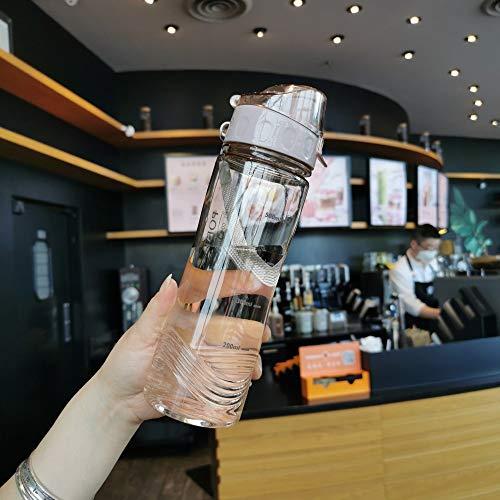 YOUSHANG Botellas De Agua, Water Bottle, Botella Agua NiñOs Sin Bpa, Limpia Botellas, Botella Bicicleta, Botella De Agua Deportiva