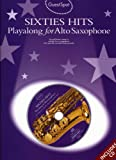 Guest Spot: Sixties Hits Playalong For Alto Saxophone + 2cds