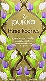 Pukka Three Licorice, Tisana, 20 Filtri