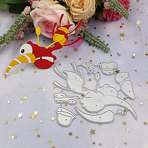 """Molde de vespa de aço carbono para impressão """"faça você mesmo"""", molde de relevo para cartão de papel e fabricação de presentes"""