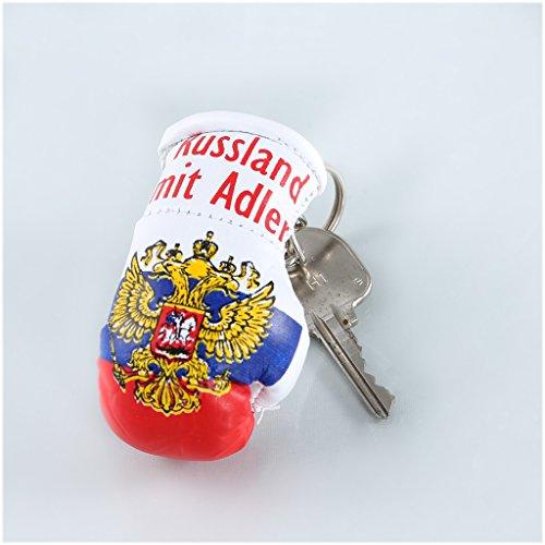 Schlüsselanhänger / Anhänger für Schlüssel - RUSSLAND - Boxhandschuh mit Schlüsselring, 7 cm groß