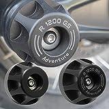VISLONE Compatible con R 1200 GS LC / R1200GS LC Adventure 2013-2018 Protector de Deslizador de Choque de Manejo de Motocicleta