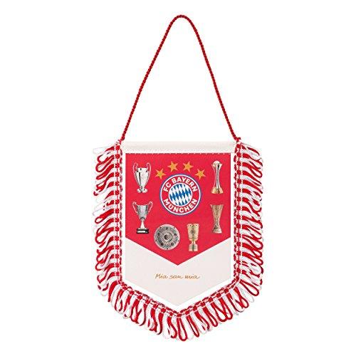 FC Bayern München Auto Wimpel / Banner / Autowimpel / Autobanner Pokale FCB