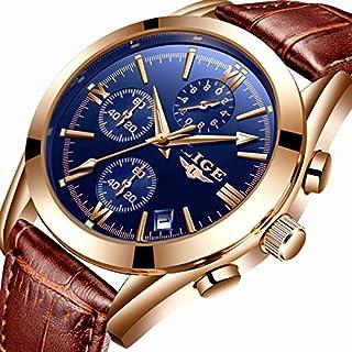 Relojes, Reloj de pulsera para hombre, de acero inoxidable, luminoso, de cuarzo, moderno, casual, impermeable, 98.4ft de agua