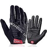 Guanti a Dita Intere Touch Screen duro di gomma Knuckle completa Finger Gloves for i guanti in bicicletta della motocicletta del motociclo Caccia Escursionismo Equitazione Sport per Uomini Donne