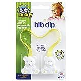 Baby Buddy Bib Clip, Yellow