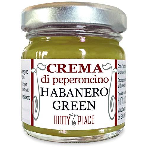 Crema HABANERO GREEN Peperoncino Piccante MEDIO aromatico e fresco 30g